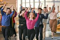 """<p>The musical dramedy, which debuted on NBC as a mid-season replacement in January 2020, received a last-minute season two renewal in June. The series, starring Jane Levy and Skylar Austin, is <a href=""""https://deadline.com/2020/06/zoeys-extraordinary-playlist-renewed-season-2-nbc-1202924053/"""" rel=""""nofollow noopener"""" target=""""_blank"""" data-ylk=""""slk:one of the only"""" class=""""link rapid-noclick-resp"""">one of the only</a> NBC freshmen shows to achieve sophomore status.</p>"""
