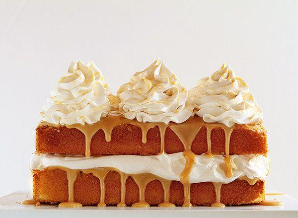 "<strong>Get the <a href=""http://iambaker.net/caramel-cake-with-apple-cider-whipped-cream/"" target=""_blank"">Caramel Cake With Apple Cider Whipped Cream recipe</a> from i am baker</strong>"