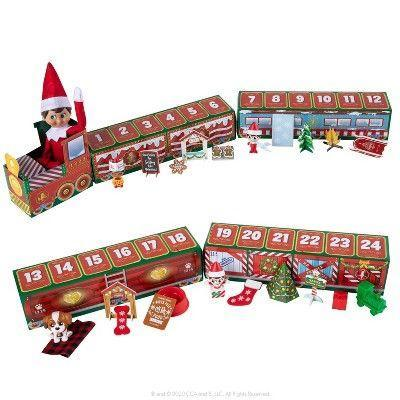 """<p><strong>Elf on the Shelf</strong></p><p>target.com</p><p><strong>$24.95</strong></p><p><a href=""""https://www.target.com/p/north-pole-advent-train/-/A-79924381"""" rel=""""nofollow noopener"""" target=""""_blank"""" data-ylk=""""slk:Shop Now"""" class=""""link rapid-noclick-resp"""">Shop Now</a></p><p>Your Elf will be ready for a ride on this goodie-filled Advent train!</p>"""