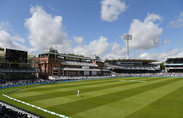 A general view of the Lords Pavilion during a test match (Picture: Getty)