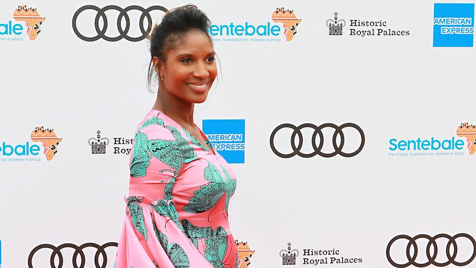 Denise Lewis says Zoom workouts have helped her get in the best shape she's been in for years! (Image: Getty Images)