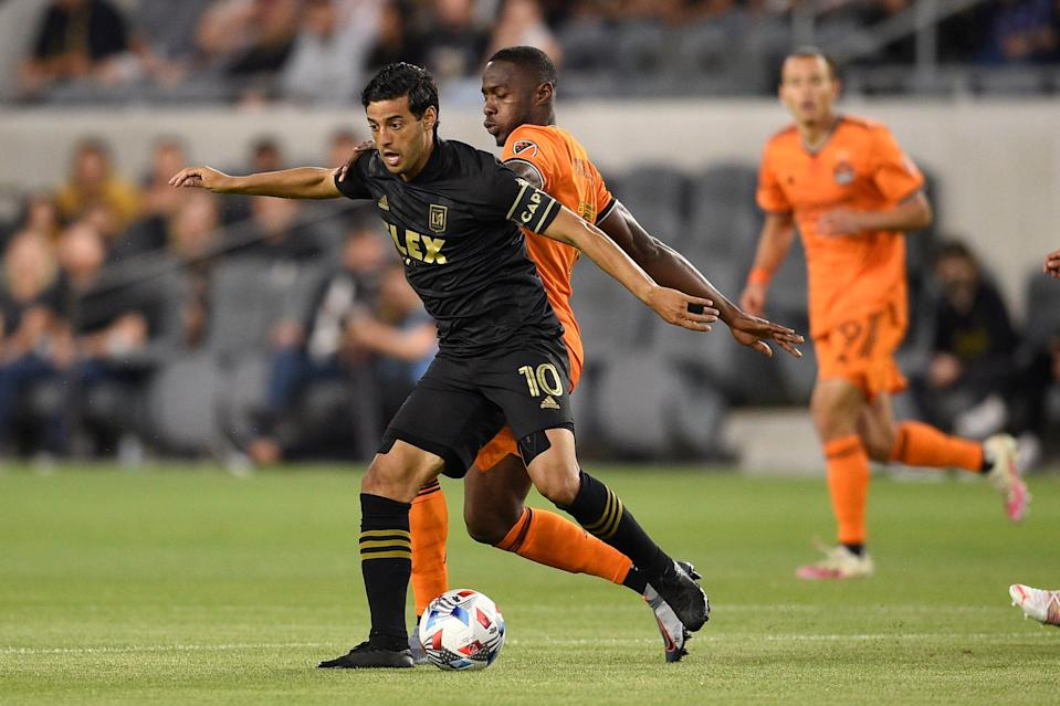 Los Angeles FC's Carlos Vela (10) already has been announced as a participant in the 2021 MLS All-Star Skills Challenge.