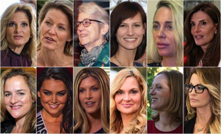 Image result for trump women assaulted