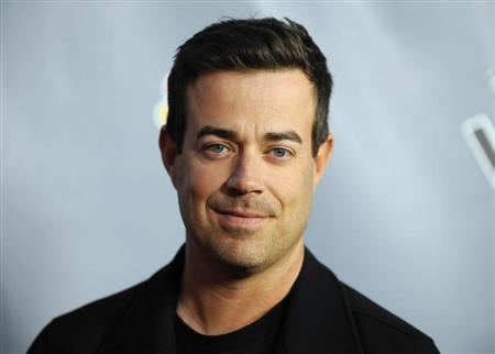 "Television personality and ""The Voice"" host Carson Daly arrives at the ""The Voice"" Season 4 premiere screening in Los Angeles, California"