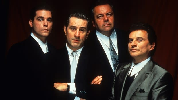 <p> Martin Scorsese's Oscar winning Goodfellas is one of the director's most memorable creations. Based on Nicholas Pileggi's non-fiction book Wiseguy, the film follows criminal Henry Hill's complicated relationship with the Brooklyn mob. Watch out for one of cinemas most seat squirming scenes, when Joe Pescis Tommy DeVito lays into Ray Liotta's Hill screaming, I make you laugh? I'm here to f****** amuse you?, before cracking into hysterics. Awkward. </p>