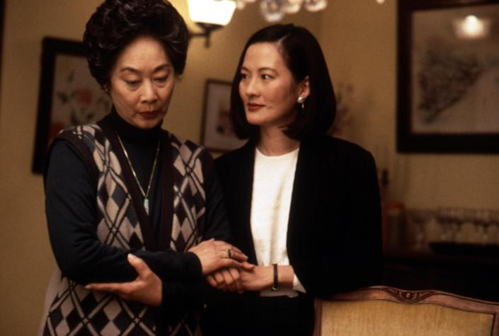 """<p>This adaptation of Amy Tan's best-selling novel is all about generational trauma and how the pasts of mothers can shape their daughter's futures. It's incredibly moving, and I left feeling like I could better understand and appreciate my own mother-daughter dynamic. –<em>AM</em></p> <p><a href=""""https://www.amazon.com/Joy-Luck-Club-Lisa-Lu/dp/B003SI605K"""" rel=""""nofollow noopener"""" target=""""_blank"""" data-ylk=""""slk:Rent it on Amazon Prime Video"""" class=""""link rapid-noclick-resp""""><em>Rent it on Amazon Prime Video</em></a></p>"""