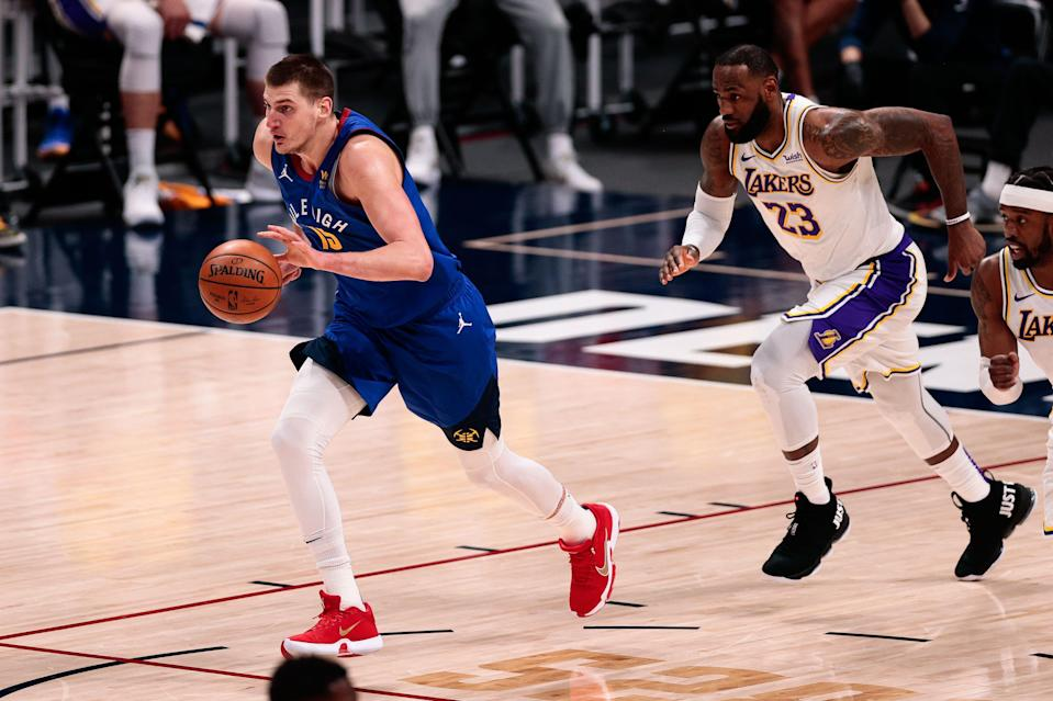 The Lakers and Nuggets, who competed for the Western Conference title last season, could meet in the first round of the NBA playoffs.