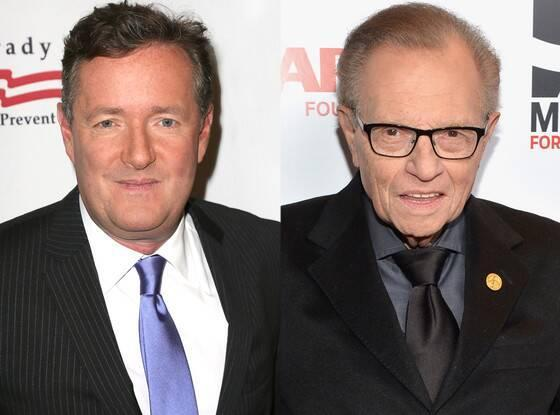 Larry King, Pierce Morgan