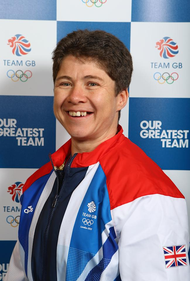 """When she isn't lifting weights for Team GB, Welsh-born Natasha Perdue lifts garbage cans.  The 36-year-old weightlifter balances her day job at the refuse department of Leeds City Council with an intense nine session a week training regime.  Formerly a national karate champion, Perdue switched to weightlifting after her father (who lifted for Britain in Munich and Mexico) passed away.  She told BBC Wales Sport, """"I would love him to be here, just to see what he would say to me…"""" (Clive Mason/Getty Images)"""