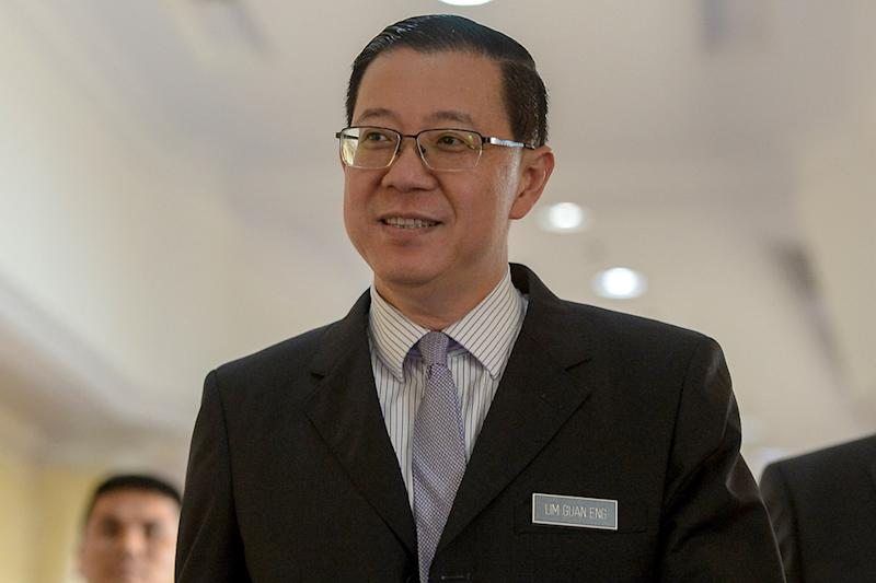 A survey showed that Finance Minister Lim Guan Eng (pic) and Attorney-General Tommy Thomas are currently proving to be highly-divisive choices for the Malay community in terms of approval for their performance. — Picture by Mukhriz Hazim