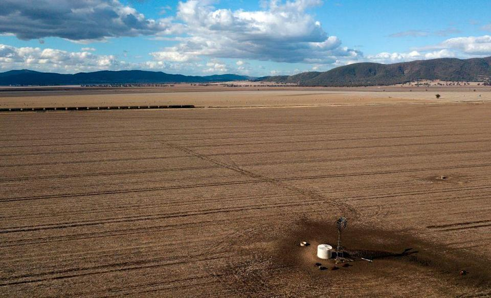 <p>The state government said on Wednesday that 100% of New South Wales' land area of more than 309,000 square miles was now in drought. [Picture: Getty] </p>