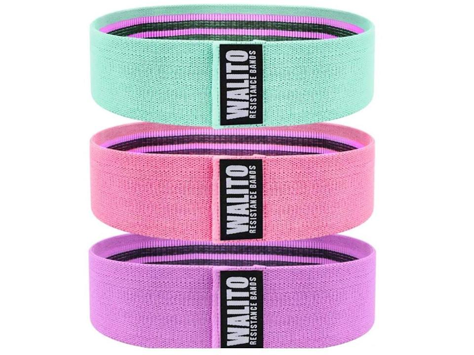 Products that motivate us to move our bodies Walito Resistance Bands