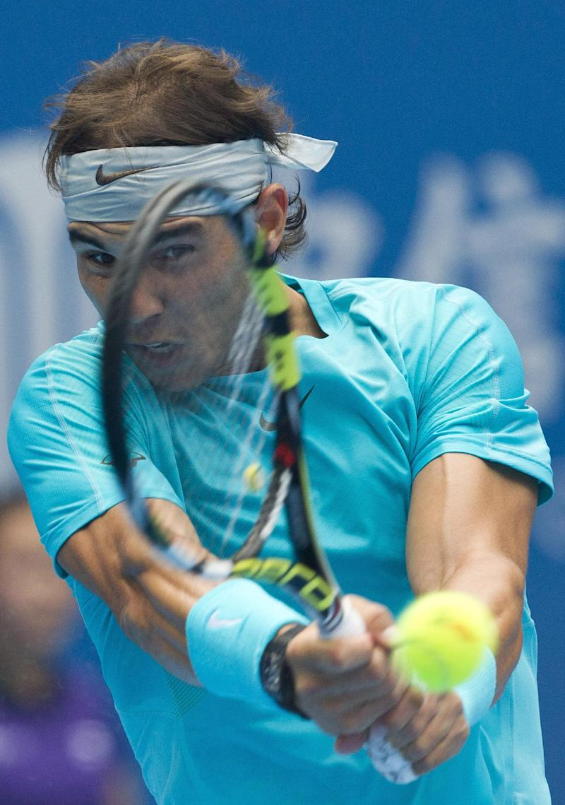Nadal to be No. 1 after reaching Beijing final