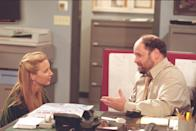 <p><em>Seinfeld</em> star Jason Alexander appears in season 7 in a scene with Lisa Kudrow as Earl, a suicidal office manager that Phoebe Buffay crosses paths with and tries to help.</p>