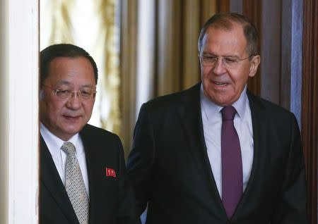 North Korean foreign minister, on Moscow visit, calls for closer Russian Federation ties
