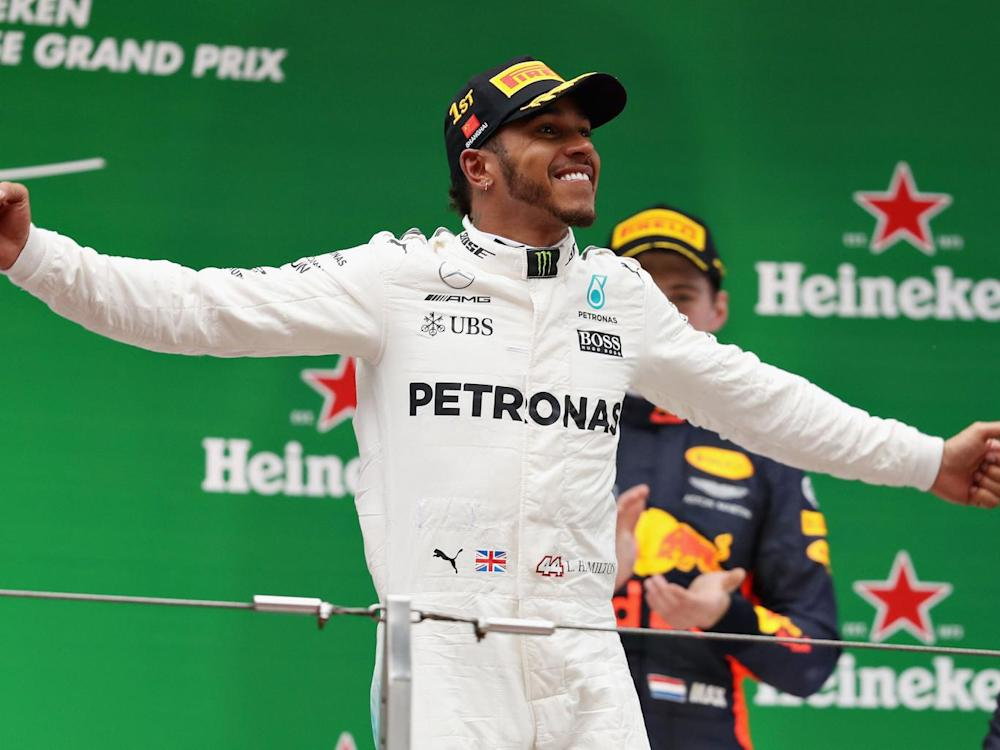 Eccleston believes Lewis Hamilton will win the title this year (Getty)