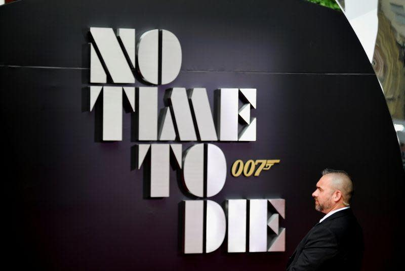 """FILE PHOTO: The World Premiere of """"No Time To Die"""" in London"""