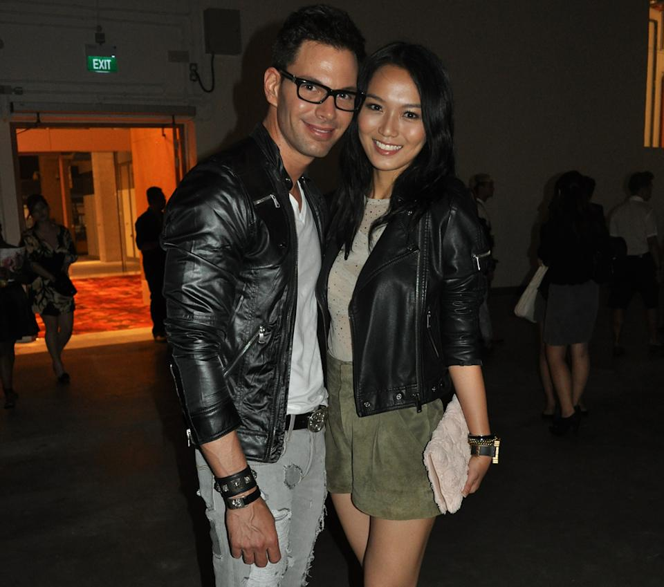 Joanne Peh, seen here with boyfriend Bobby Tonelli, is upset over Nando's terrible service. (Yahoo! file photo)