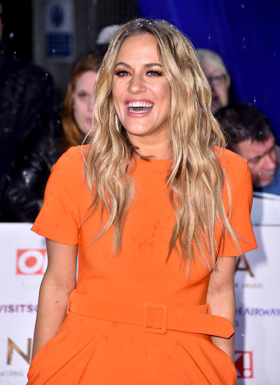 File photo dated 22/1/2019 of TV presenter Caroline Flack who has died, her family said in a statement.