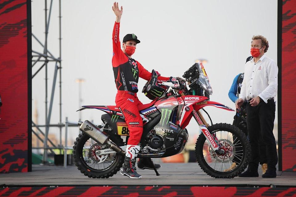 "#88 Monster Energy Honda Team: Bort Joan Barreda<span class=""copyright"">A.S.O. </span>"