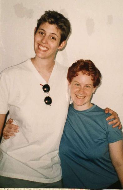 PHOTO: Sally Kohn is pictured in this undated photo from her early 20s with her high school sweetheart. (Courtesy Sally Kohn)