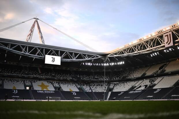 Juventus, Real Madrid, Barcelona, and AC Milan haven't left the project, and UEFA president said officials could 'suffer some consequences.'  (Marco Bertorello/AFP via Getty Images - image credit)