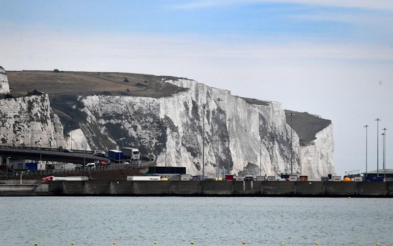 The man was trying to swim from Dover to Calais - EPA