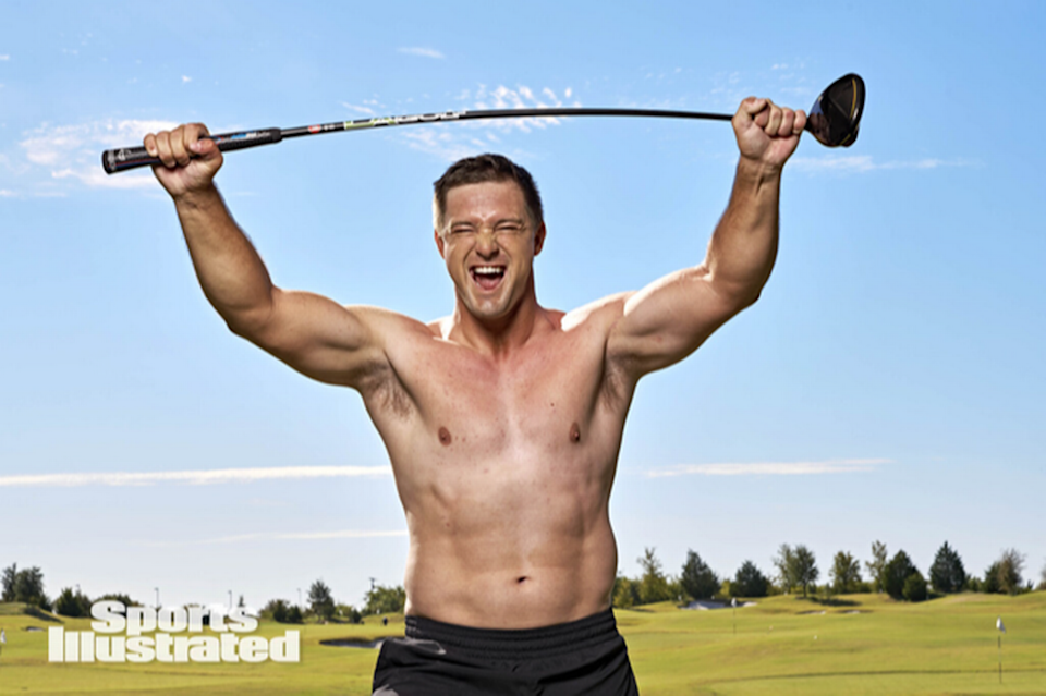 Golf's breakout phenomenon, Bryson DeChambeau, added 40 pounds to his physique during the pandemic.