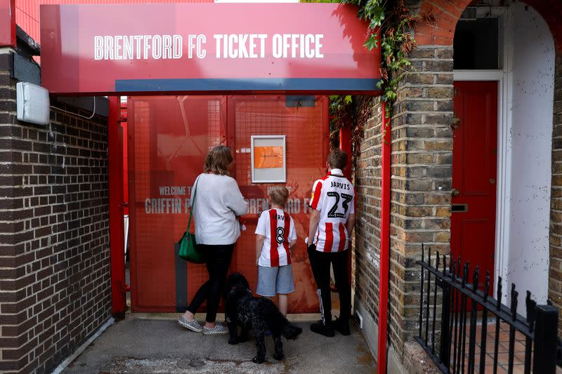 Promotion can earn Brentford 160 million pounds over three years: Deloitte