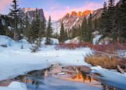 <p>Resting at the foot of the Rocky Mountains, Estes Park park is a picture-perfect mountain town and home of the hotel that inspired Stephen King's, <em>The Shining.</em></p>
