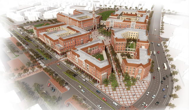 <p>The USC Village is shown in this rendering. (Photo: University of Southern California) </p>