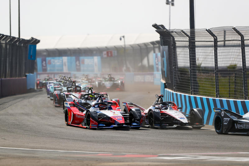 The 2020 Marrakesh E-Prix in Morocco was a replacement for a planned Hong Kong eventLAT Images