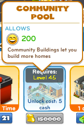 CityVille Community Pool in-game