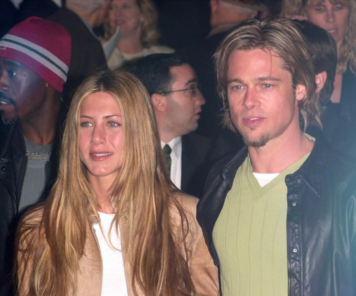 """Before """"Brangelina,"""" there was <strong>Brad Pitt</strong> and <strong>Jennifer Aniston</strong>. And while the couple split up nearly 15 years ago—and have both been married to other people since—they've managed to still remain friends. Pitt was even <a href=""""https://people.com/movies/brad-pitt-jennifer-aniston-50th-birthday-party/"""" target=""""_blank"""">spotted</a> attending his ex-wife's 50th birthday party in Los Angeles in February!"""