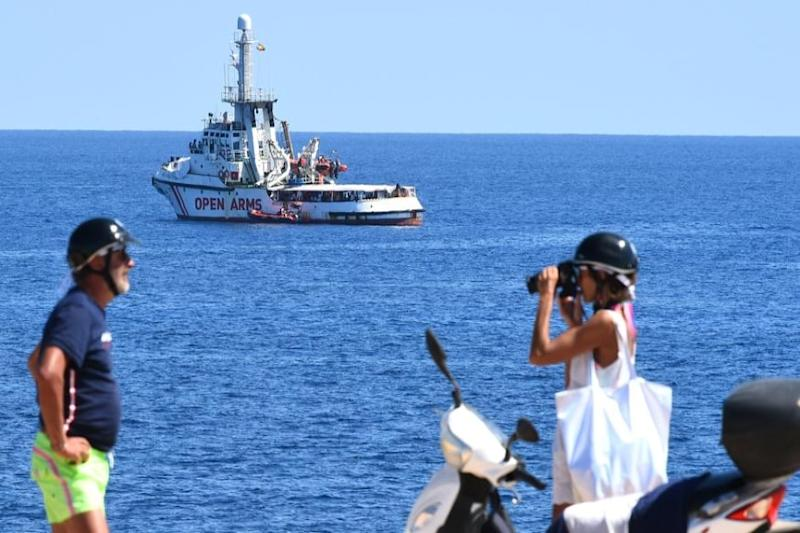 First Migrant Charity Ship Reaches Italy Since Covid-19 Lockdown Began in April