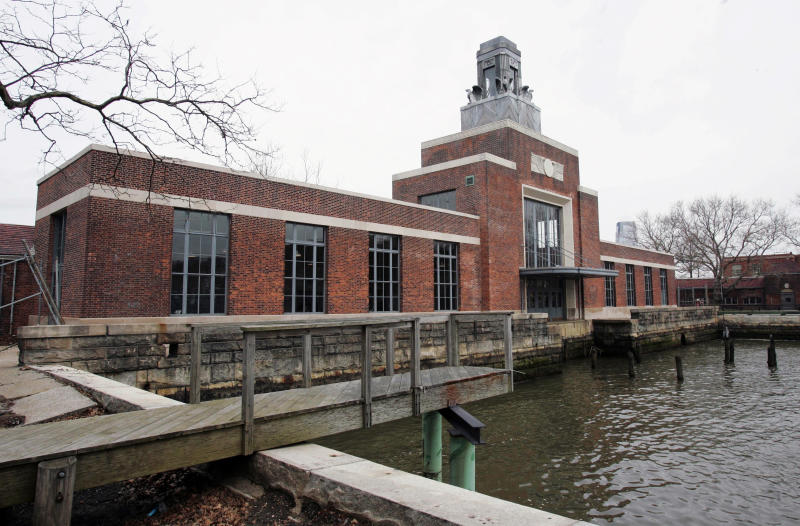 Ellis Island museum reopens after Sandy's floods