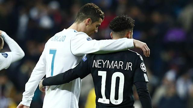 The former Brazil star feels that his compatriot can't become the best player in the world as long as he stays at Paris Saint-Germain