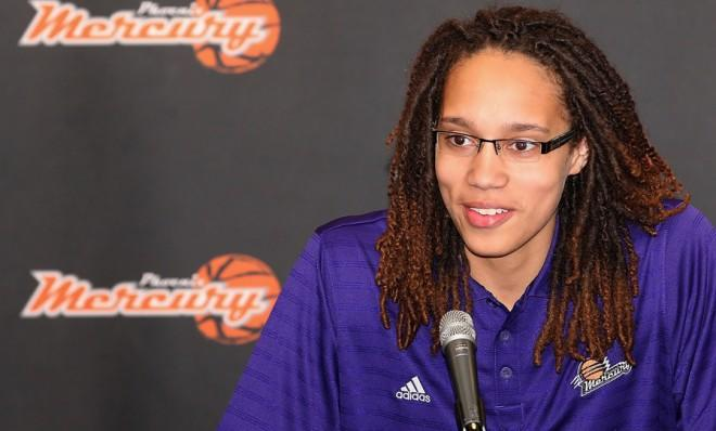 The WNBA's number one draft pick, Brittney Griner, had a jump on the whole pro-athlete-coming-out thing.