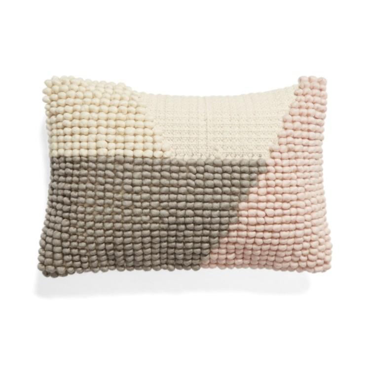 Nubby Colorblock Accent Pillow (Photo: Nordstrom)