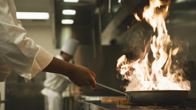 What is a line cook?