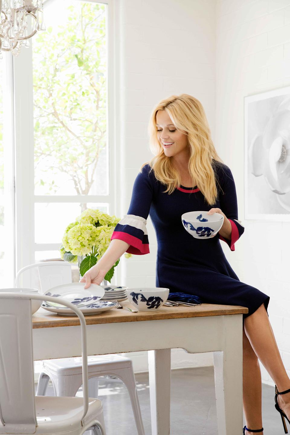 Reese Witherspoon's Draper James fashion label is having a big sale from Jan. 11 through Jan. 13. (Photo: Draper James)