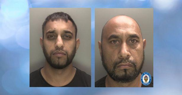 Raja Malik (L) and Mohammed Nawaz were convicted of assault. Police)