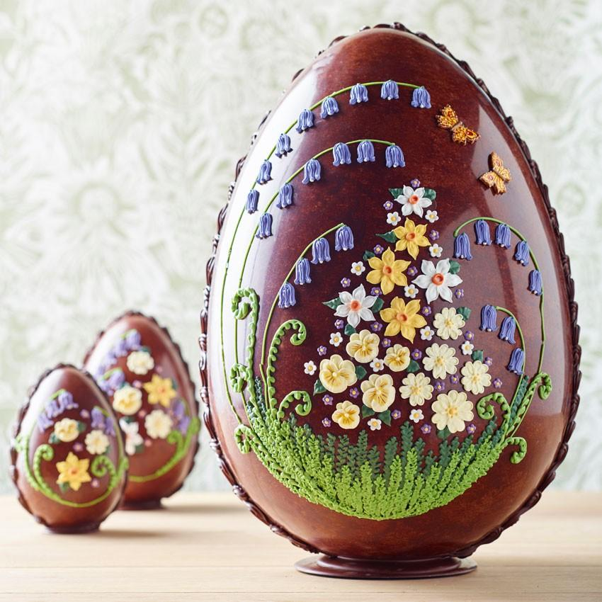"""<p><a rel=""""nofollow"""" href=""""https://www.bettys.co.uk/imperial-milk-chocolate-spring-flowers"""">Betty's, £250</a> </p>"""