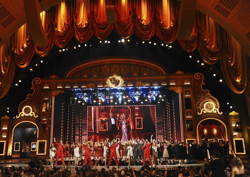 Midler, millennial angst scoop Broadway's Tony Awards
