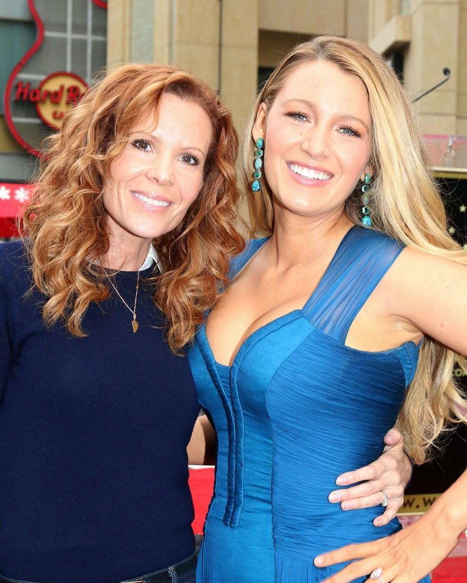 Robyn and Blake Lively