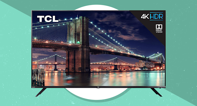 Save $350 on this TCL 55-inch 4K Ultra HD Roku Smart LED TV (55R617). (Photo: TCL)