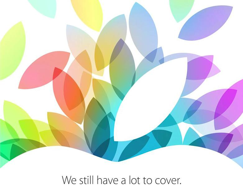 Apple sends invitations to next-gen iPad event scheduled for Oct. 22