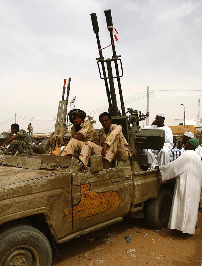 Sudan's Rapid Support Forces have claimed several victories but have been accused of abuses by rights groups (AFP Photo/Ashraf Shazly)