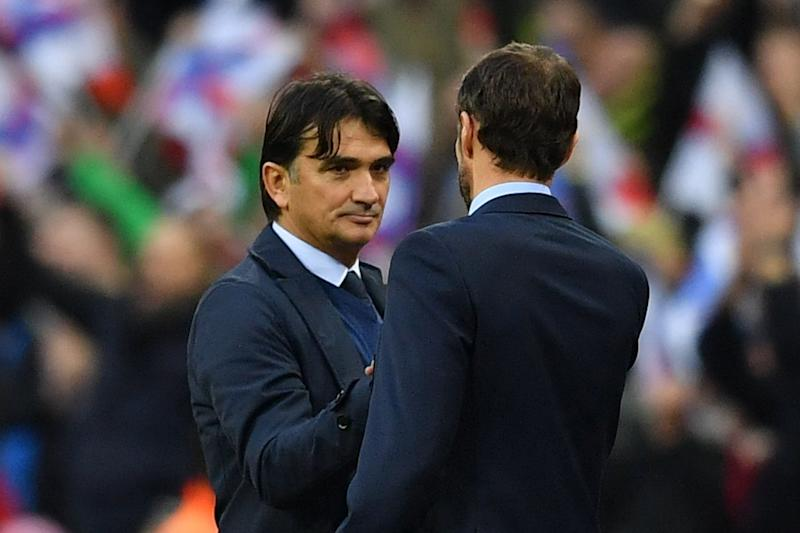 Dalic was full of praise for Southgate's England: AFP/Getty Images