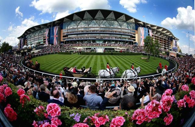 Queen Elizabeth II arrives for day four of Royal Ascot in June 2014. Favourite Leading Light, ridden by jockey Joseph O'Brien, had the previous day denied the Queen a second straight triumph in the Ascot Gold Cup by beating her horse Estimate in a thrilling finish